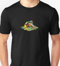 Melted Rubik's Cube T-Shirt