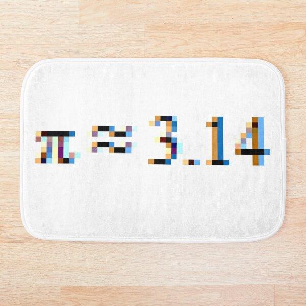 Pi = 3.14; Π, π Bath Mat