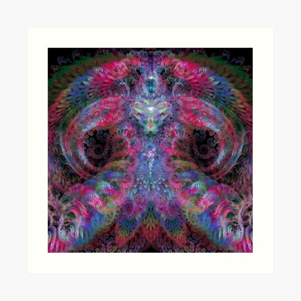 Psychedelic Magus Art Print