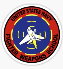 US Navy Top Gun Logo Sticker