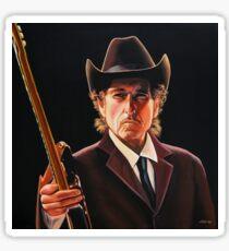 Bob Dylan Painting 2 Sticker