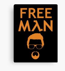 Gordon Freeman (Gold) Canvas Print