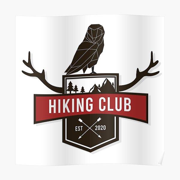 Hiking Club Poster