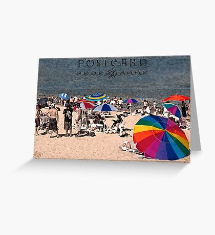 Rainbows by the sea Greeting Card
