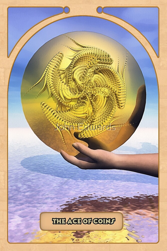 The Ace of Coins by John Edwards