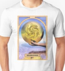 The Ace of Coins Unisex T-Shirt