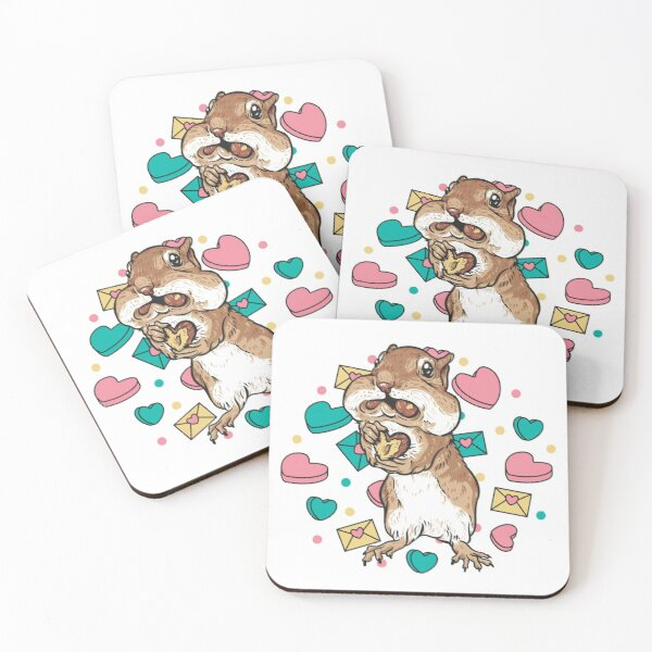 Will You Accept This Nut? Coasters (Set of 4)