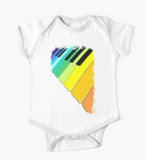 Piano Keyboard Rainbow Colors  Kids Clothes