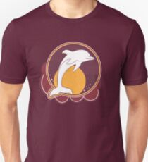 Dolphin Sun Orange T-Shirt