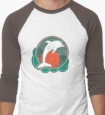 Dolphin Moonlight Red T-Shirt