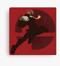 Captain Falcon (Smash 4, Knee of Justice) - Sunset Shores Canvas Print