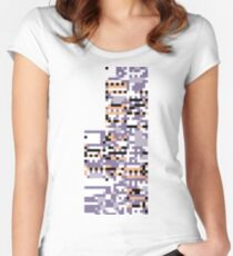Missingno Women's Fitted Scoop T-Shirt