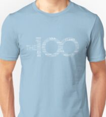 The 100 - Typography Art [black/white] T-Shirt