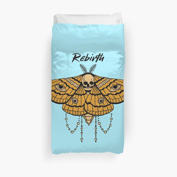 Rebirth Moth Duvet Cover