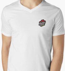 PIZZA SLUT  Men's V-Neck T-Shirt