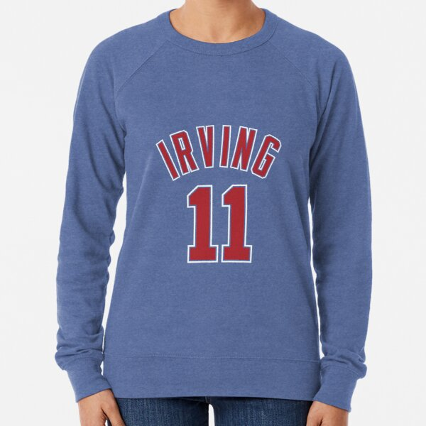 Kyrie Irving Nets Jersey - Blue Lightweight Sweatshirt