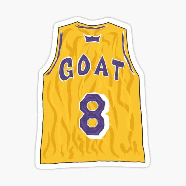 Kobe Bryant Rookie Jersey Sticker by ARTxMA
