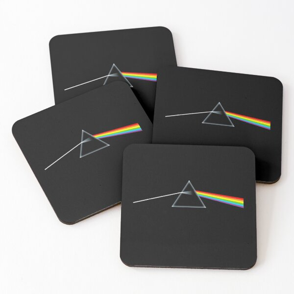 The Dark Side of the Moon Coasters (Set of 4)