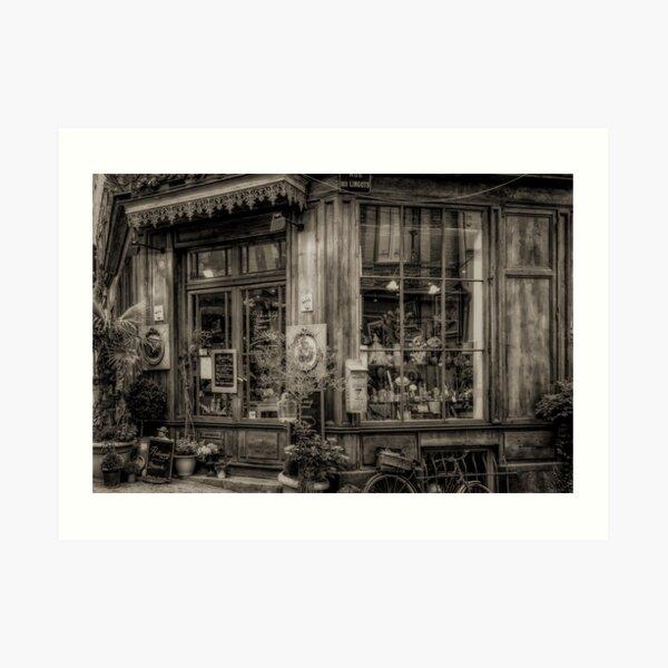 Cafe Laurence Art Print