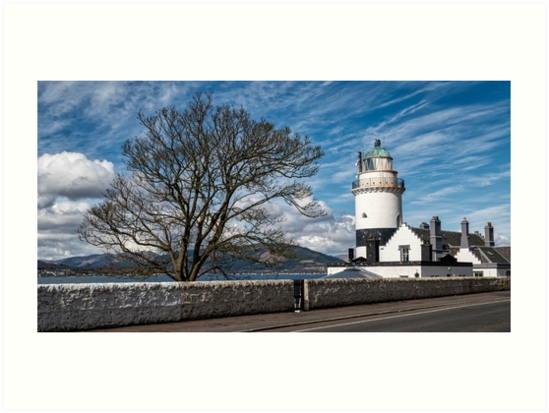 Cloch Lighthouse at Gourock, Inverclyde in Scotland by Jeremy Lavender Photography