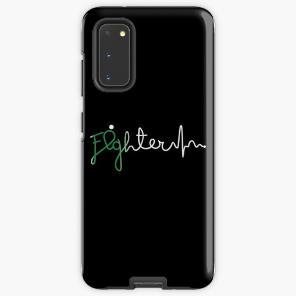 Fighter- Depression Awareness Gifts for Women Depression Support Ribbon Samsung Galaxy Tough Case