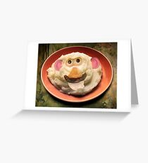 Mr. Potato Head Sr. Greeting Card