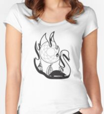 Swanfire (Neal & Emma, Once Upon a Time) Women's Fitted Scoop T-Shirt