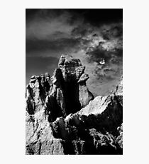 Sunset over Badlands National Park .3 Photographic Print