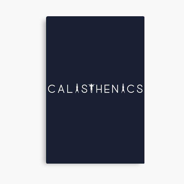 Calisthenics & Bodyweight design Canvas Print