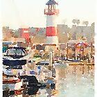 harbor light house by vanhagen