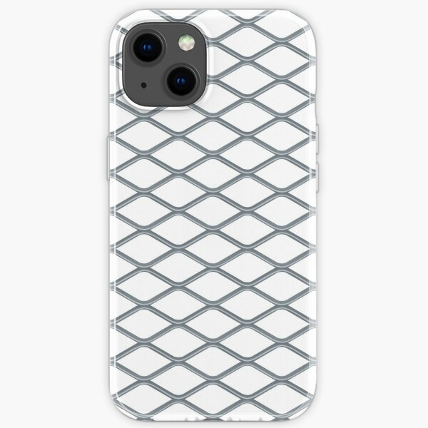 Pattern Metal Grill iPhone Soft Case