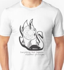 Swanfire - With Quote (Neal & Emma, Once Upon a Time) Unisex T-Shirt