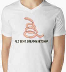 BREAD N KETCHUP Men's V-Neck T-Shirt