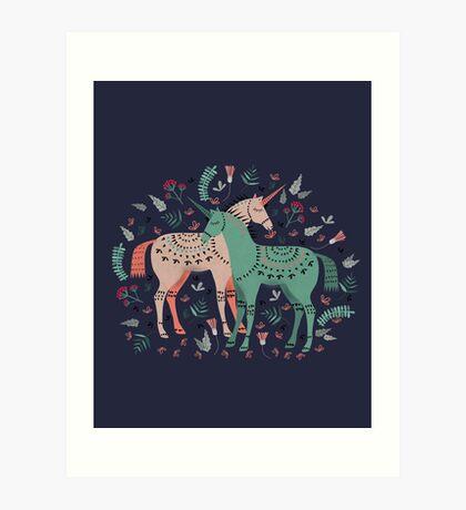 It's Still Unicorny Art Print