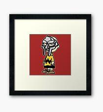 Charlie Brown Mask Framed Print
