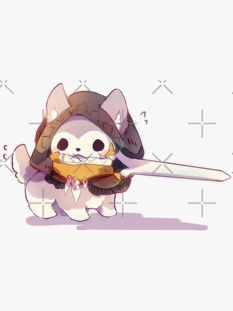 Genshin Impact Razor Puppy by CremeChii