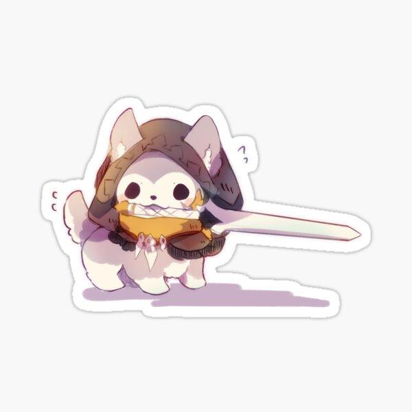 Genshin Impact Razor Puppy Sticker
