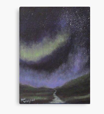 Star Path Canvas Print
