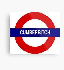 Cumberbitch Metal Print
