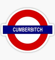 Cumberbitch Sticker