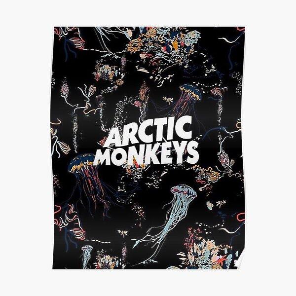 Mushrooms Monkeys Poster