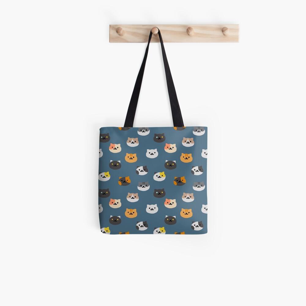 Neko Atsume Katzen Stofftasche