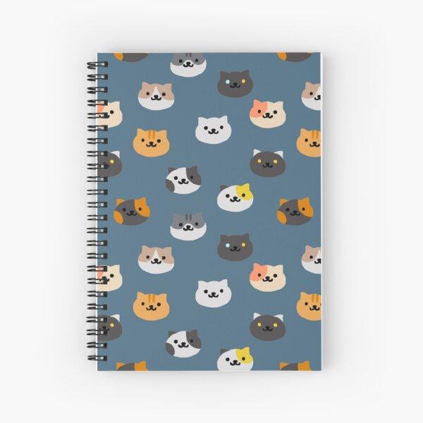 Neko Atsume Cats Spiral Notebook