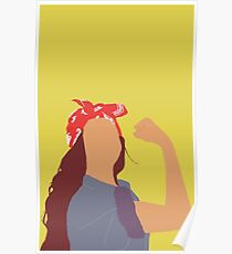 Beyonce as Rosie the Riveter Poster