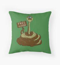 Free Hugss Throw Pillow