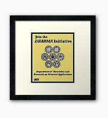Join the DHARMA Initiative Print Framed Print