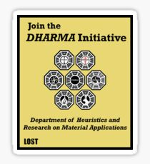 Join the DHARMA Initiative Print Sticker