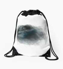 Swanfire digital painting (Once Upon a Time, Neal & Emma) Drawstring Bag