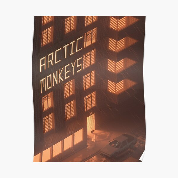 Rain Monkeys Poster