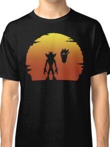 Crash on Sunset Classic T-Shirt